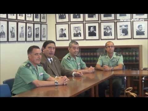 El CTA recibe la visita de altos mandos de la Guardia Civil