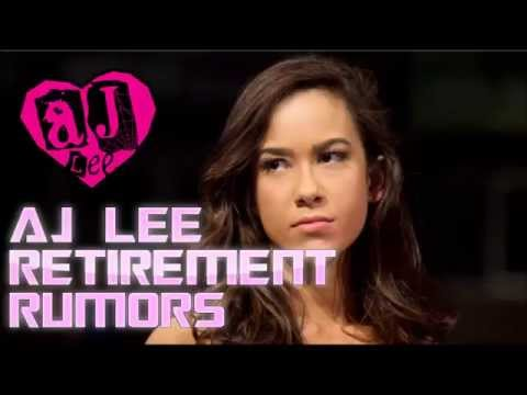 Wrestling Thoughts #13 - AJ Lee's Retirement Planned Before Wrestlemania 31?