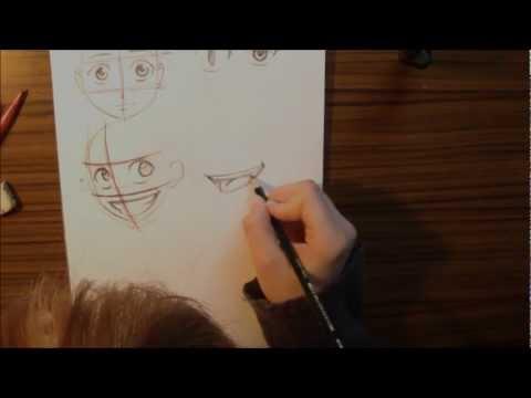 Chibi zeichnen lernen, die Grundlagen Teil 1 von 2
