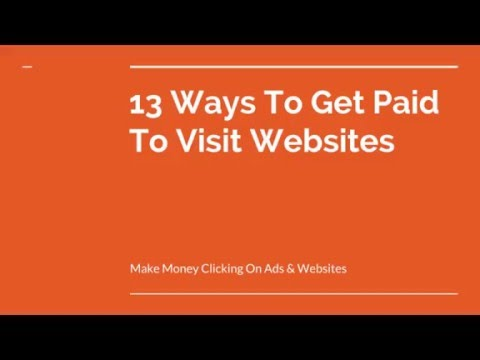 Get Paid To View Websites