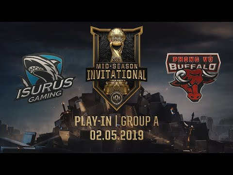 ISG vs PVB [MSI 2019][02.05.2019][Group A][Play-in] - Thời lượng: 47:39.