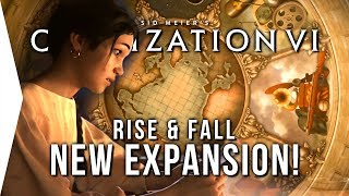 Video Civilization VI Rise & Fall Expansion Announced! ► New Civs & Gameplay Features MP3, 3GP, MP4, WEBM, AVI, FLV Januari 2018