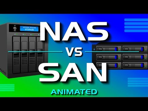 NAS vs SAN - Network Attached Storage vs Storage Area Network (видео)