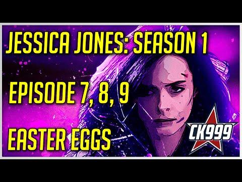 Marvel's Jessica Jones Season 1 Episode 7, 8, 9: Hidden Easter Eggs & Secrets