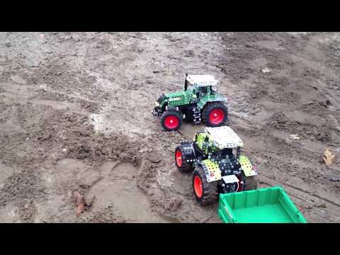 Tronico Metallbaukasten - RC Traktor FENDT 939 VARIO - IN THE MUD FOR TESTING - 1:16 - RC Tractor
