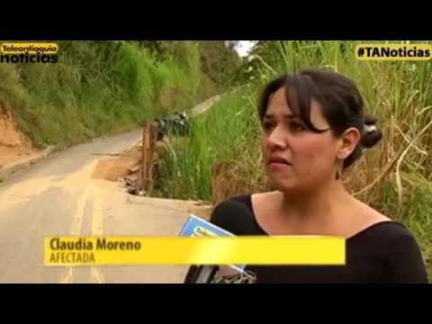 La comunidad de Belén Aguas Frías exige reparación en una vía del sector