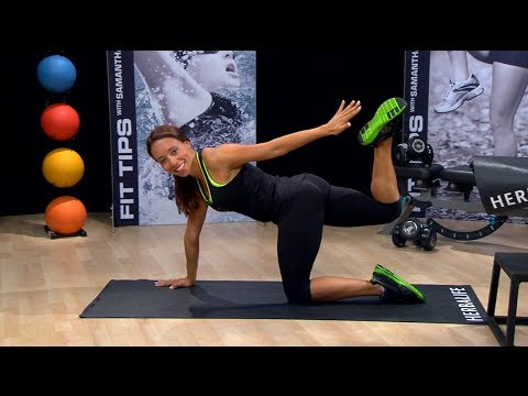 Get in shape now: New mom workout by Samantha Clayton   Herbalife Fit Tips