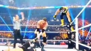 WWE Summer Slam StephenAmell and neville vs Stardust and kingbarrett