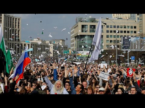 Tausende protestieren in Moskau gegen Telegram-Verbot