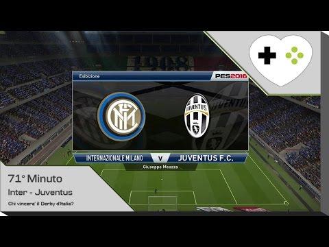 Inter - Juventus (Serie A 2015/2016) | PES 2016 [71° Minuto]