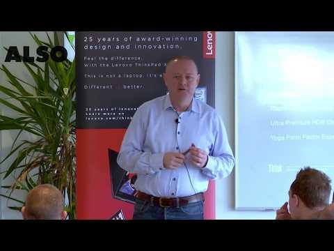 ALSO præsenterer Lenovo nyheder