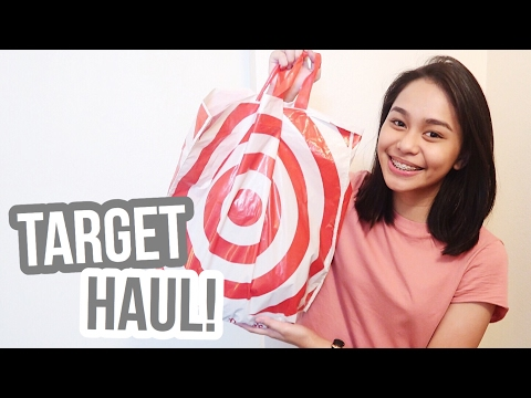 Target Haul + Trying My First Burger! | Thatsbella