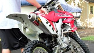 8. Honda Crf 250x - Stock Vs. FMF Exhaust