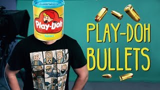 Josh has a bullet in his head… And we make a bullet out of Play-Doh! -----------------------------------------------------------------Last Weeks Episode:https://www.youtube.com/watch?v=VfXMWvGeTvM -----------------------------------------------------------------HitFilm Epress: Download HitFilm Express 2017 now for free at https://hitfilm.com/store/hitfilm-express?utm_source=591d78f0dda2881b737902a3&utm_medium=affiliate Get HitFilm Pro Here: http://hitfilm.com/store?utm_source=591d78f0dda2881b737902a3&utm_medium=affiliateo Get 25% off any HitFilm Products by using the code: FILMRIOT25----------------------------------------------------------------- **GEAR WE USE** COLOR GRADING LUTs:http://bit.ly/buyFRluts SOUND FX:http://bit.ly/buyFRsfx MUSIC:http://bit.ly/buyFRmusic VFX ASSETS:http://bit.ly/buyFRvfx  CAMERAS:C300 mkII: http://bit.ly/buyC300iiA7s II: http://bit.ly/buya7siiC100: http://bit.ly/buyc100 LENSES: Rokinon: http://bit.ly/buyrokinon AUDIO:NTG3: http://bit.ly/buyntg3H4n Zoom: http://bit.ly/buyh4nzoomZoom F8: http://bit.ly/buyzoomf8 TRIPOD:BV-10: http://bit.ly/buybv10-----------------------------------------------------------------Connect with us: TWITTER:FilmRiot - http://twitter.com/FilmRiotRyan - http://twitter.com/ryan_connollyJosh - https://twitter.com/Josh_connollyStark - https://twitter.com/mstarktvJustin - https://twitter.com/jrobproductionsEmily - https://twitter.com/emily_connolly FACEBOOK:Film Riot - https://www.facebook.com/filmriotRyan - https://www.facebook.com/theryanconnollyJosh - https://www.facebook.com/TheJoshConnolly INSTAGRAMFilm Riot - https://www.instagram.com/thefilmriot/Ryan - http://instagram.com/ryan_connollyJosh - http://instagram.com/josh_connollyStark - http://instagram.com/mstarktvJustin - http://instagram.com/jrobproductions----------------------------------------------------------------- Theme Song by Hello Control: http://bit.ly/hellocontrol