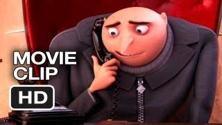 Despicable Me 2 Movie CLIP - Phone Practice (2013) - Steve Carell Sequel HD