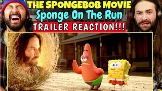 The SPONGEBOB MOVIE: Sponge on the Run - TRAILER REACTION!!! by The Reel Rejects
