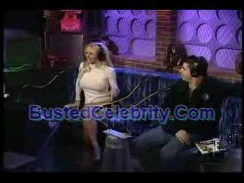 Pam Anderson In Lost Howard Stern Footage