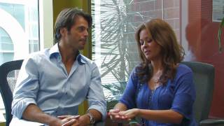 Brooke Burke Interviews David Charvet