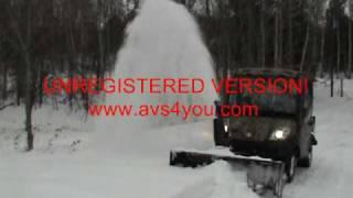 9. RTV1100 SNOWBLOWER.wmv