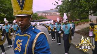 Download Lagu Southern University Human Jukebox Marching Out Sanford Stadium 2015 Mp3