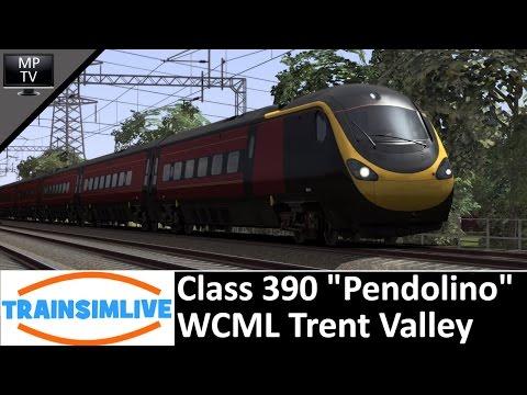 MattPlaysTV@1080P - Train Simulator - WCML Trent Valley, Class 390 Pendolino