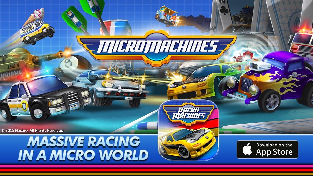Chillingo's 'Micro Machines' Soft Launches, Release Soon?