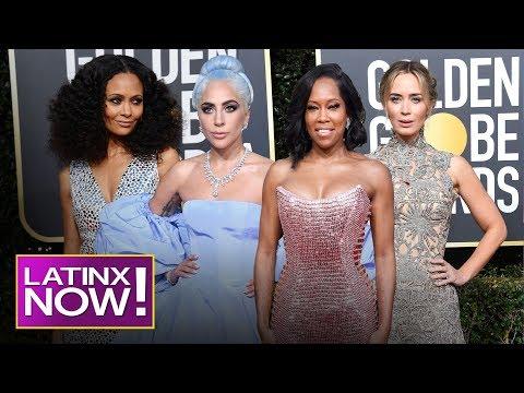 2019 Golden Globe Awards Fashion Round-Up | Latinx Now! | E! News