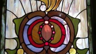 Creación de una Vidriera Artística Tiffany