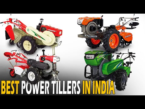 Best Power Tillers in India 2020 | Kirloskar, Honda, Kubota, Kamco & Shakti Power Tillers