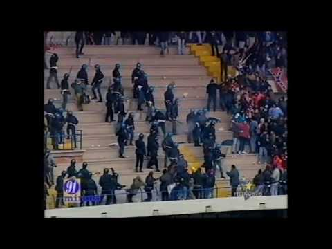 Scontri Ultras Verona - Salernitana