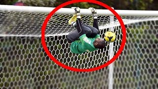 Video Top 10 Acrobatic Goalkeepers Saves MP3, 3GP, MP4, WEBM, AVI, FLV Juli 2018