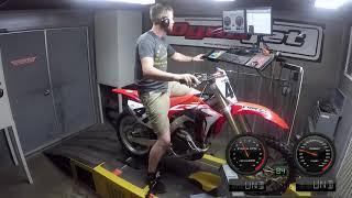 9. 2019 Honda CRF450R Dyno