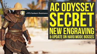 Assassin's creed Odyssey SECRET Engraving Has Purpose & Update On More Mysteries (AC Odyssey)