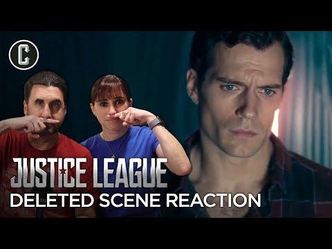 Justice League Deleted Scene Glimpses Superman's Black Suit