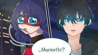 LUKA CALLS MARINETTE?【Miraculous Ladybug Comic Dub Compilation