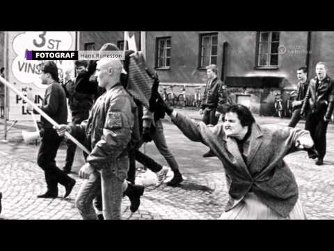 "Video - Άγαλμα έγινε η ""τσαντιά"" που έφαγε στο κεφάλι ένας νεοναζί το 1985"