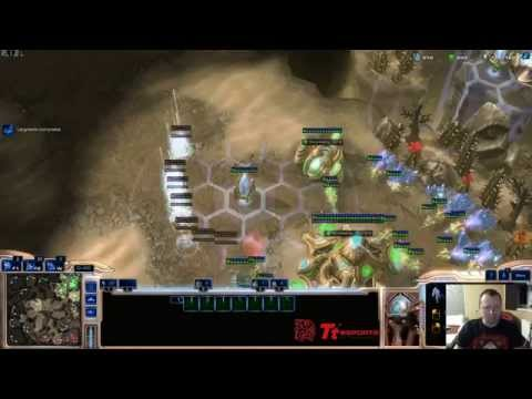 LotV Macro PvT try hold mass cyclones