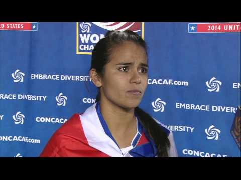 Interviews Match Costa Rica vs Trinidad and Tobago