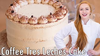 Coffee Tres Leches Cake by Tatyana's Everyday Food