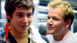 Video Christopher Parker Takes On Gordon Ramsay! | The F Word MP3, 3GP, MP4, WEBM, AVI, FLV Februari 2019