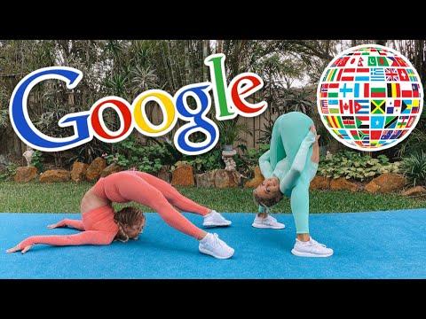 GOOGLE TRANSLATE Acro Gymnastics Challenge (PART 2)