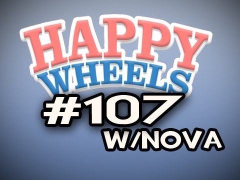 Happy Wheels w/Nova Ep.107 - Dawn of The Dead & TRON Vehicles Video