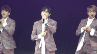 Download Lagu 170521 B1A4 LIVE SPACE 2017 in HongKong - Sweet Girl (진영 focus) Mp3