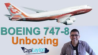 Video Boeing 747 8i Unboxing. (#8) MP3, 3GP, MP4, WEBM, AVI, FLV Juni 2018