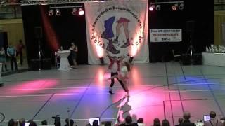 Nina Stahl & Philipp Bauer - Nordbayerische Meisterschaft 2014