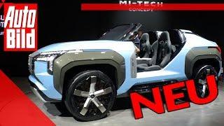 Mitsubishi MI-TECH Concept (2019): Studie - Turbine - Plug-in-Hybrid by Auto Bild