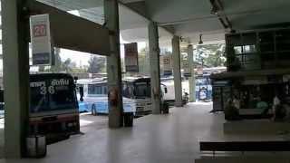 バンコク市内観光エカマイ・東バスターミナル
