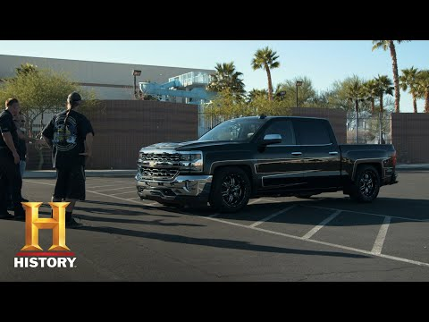 Counting Cars: Danny Unveils A YMCA Charity Pickup Truck (Season 8, Episode 11)   History