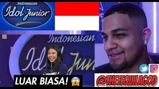 Video My REACTION To Anneth Golden Tiket! - Indonesian Idol Junior 2018 MP3, 3GP, MP4, WEBM, AVI, FLV September 2018