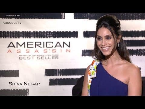 Shiva Negar is shocked! 'American Assassin' on FabTV